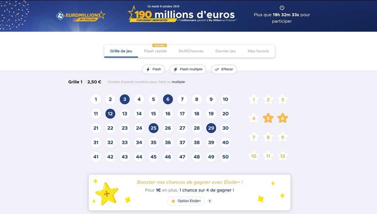 Euromillions spilleregler