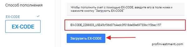 Ex-koodi Exmo: kuinka käyttää, mistä saada, miksi sitä tarvitaan?