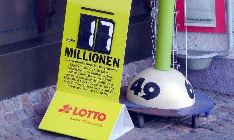 Лотереи в германии