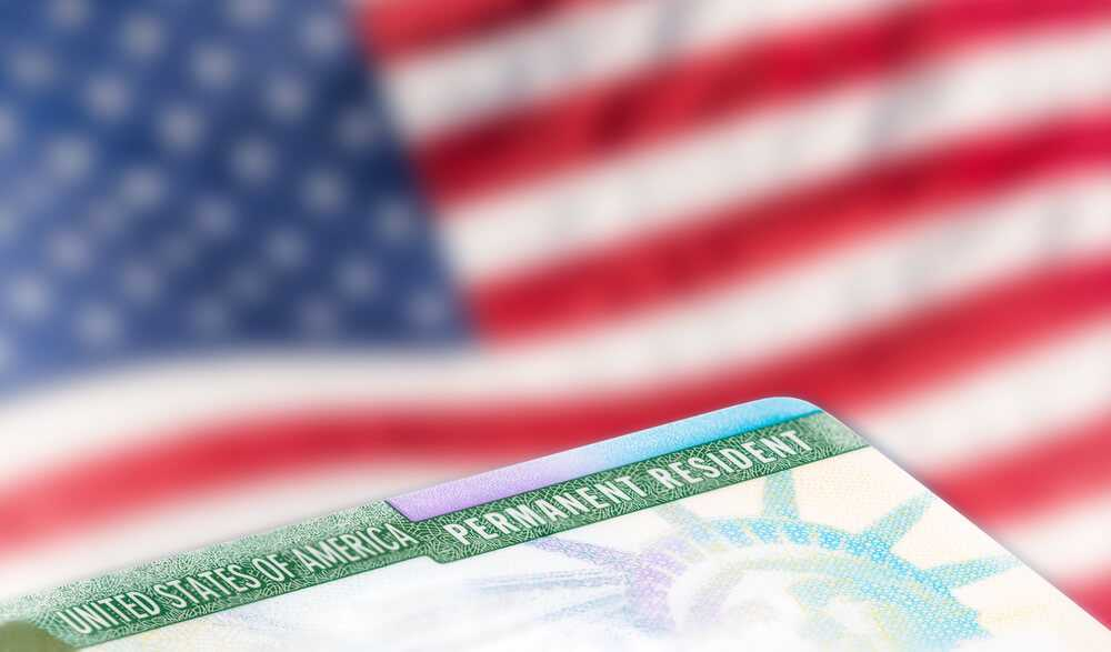 Diversification green card lottery (green card) USA