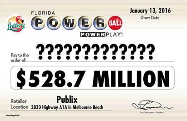 Loterie de Floride - powerball - comment jouer