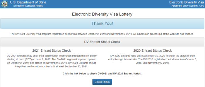 Green card lottery dv-2019 ⋆ rules for participation in the visa lottery