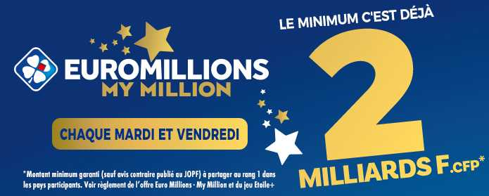 Euromillions : draw, hour, result, statistics... how to play ?