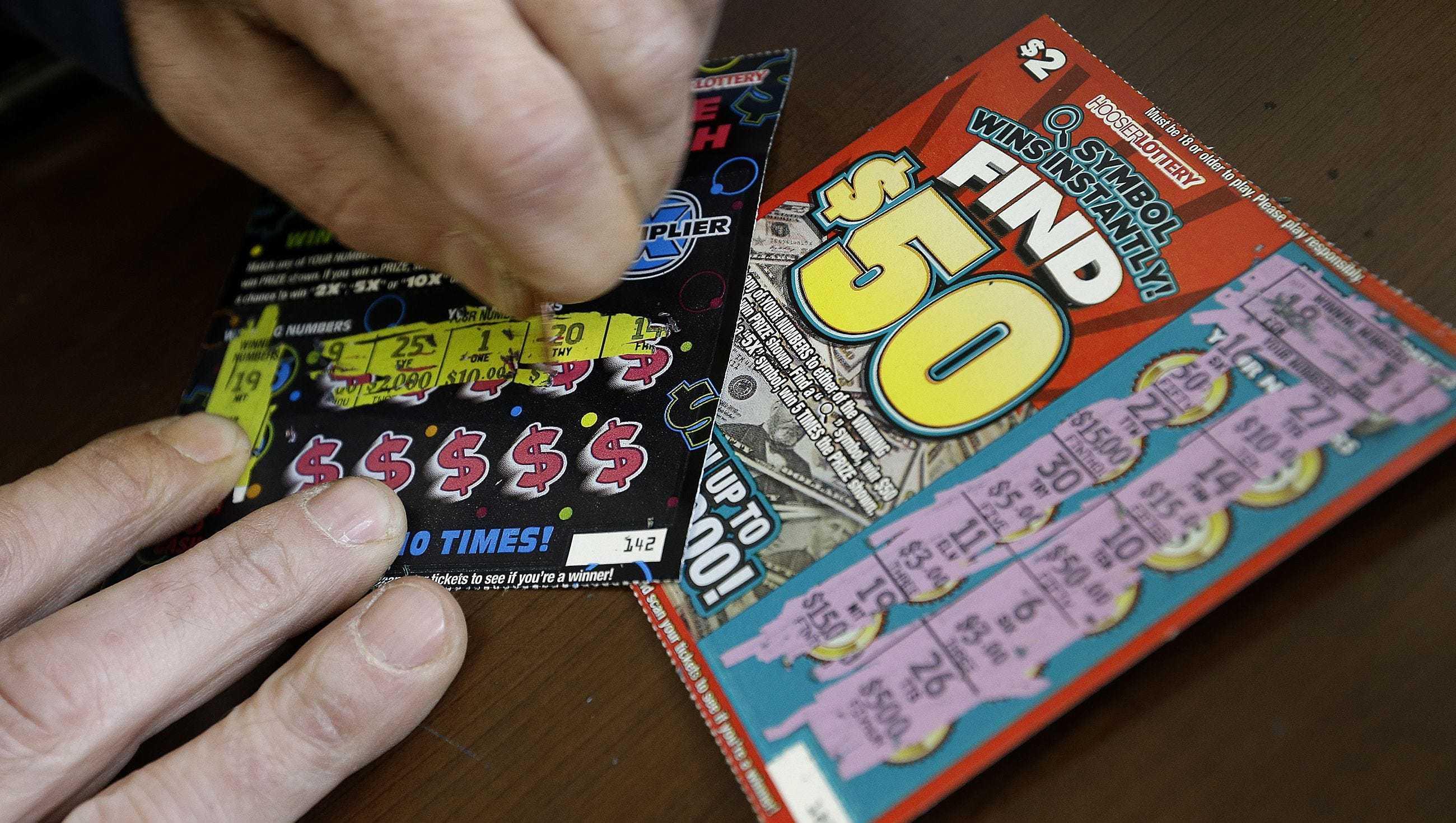 Lotteri jackpot optegnelser