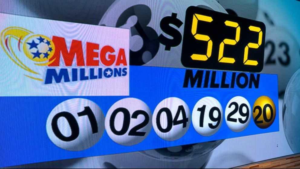 Mega milhões de resultados - últimos mega milhões de números vencedores